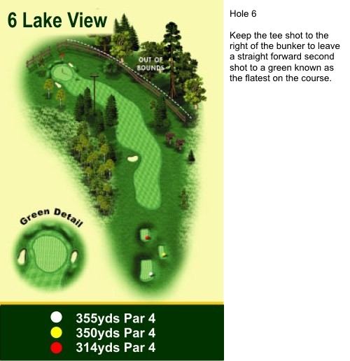 Hole 6 Lake View