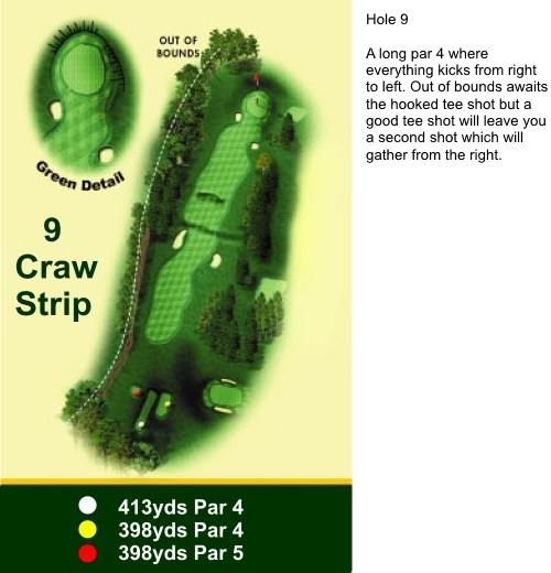 Hole 9 Craw Strip